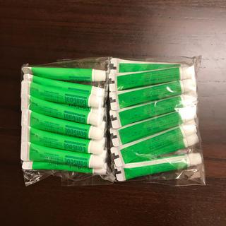 ジェルコートF サンプル 12本(歯磨き粉)