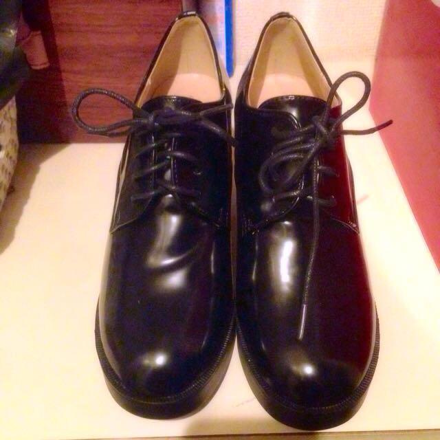 E hyphen world gallery(イーハイフンワールドギャラリー)の値下げ!レースアップ厚底ブーティ レディースの靴/シューズ(ハイヒール/パンプス)の商品写真