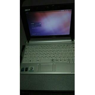 エイサー(Acer)のacer製 小型ノートパソコン ubuntu(ノートPC)