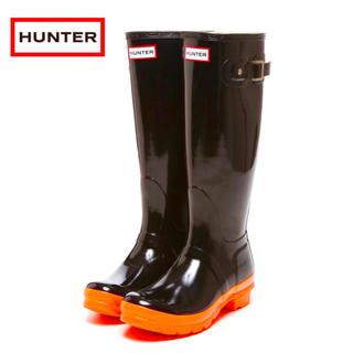 ハンター(HUNTER)の新品 ハンター ネオンオレンジ UK3(レインブーツ/長靴)
