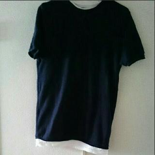 ザラ(ZARA)のZARA レイヤード Tシャツ(Tシャツ/カットソー(半袖/袖なし))