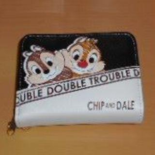 ディズニー(Disney)の最終値下げ◆新品・未使用♡ディズニー☆チップ&デール二つ折り財布(ラウンド型)(財布)