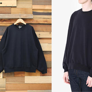 新品 auralee SUPER SOFT SWEAT BIG P/O 18ss(スウェット)