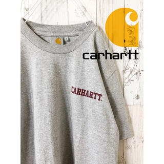 古着 カーハート Tシャツ グレー Carhartt