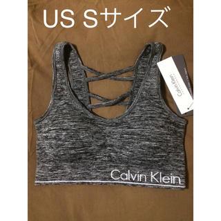 カルバンクライン(Calvin Klein)のカルバンクライン パットつきスポーツブラ(ブラ)