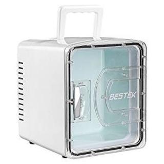 BESTEK 冷温庫 家庭 車載両用 ミニ冷蔵庫 として使用可能 2電源式 保温(冷蔵庫)