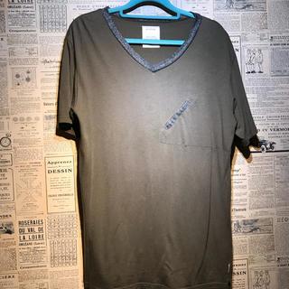 サイクル(cycle)のCYCLE サイクル VネックTシャツ サイズL(Tシャツ/カットソー(半袖/袖なし))