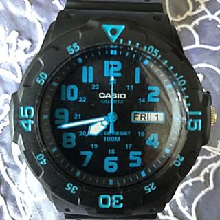 CASIO - CASIO スポーツ アナログ メンズ 腕時計 MRW-200H-2B
