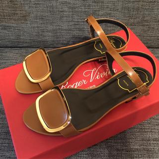 ロジェヴィヴィエ(ROGER VIVIER)のROGER VIVIER Chips West Buckle sandals  (サンダル)