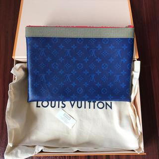 ルイヴィトン(LOUIS VUITTON)の18ss 本物 Louis Vuitton ルイヴィトン クラッチバッグ(セカンドバッグ/クラッチバッグ)