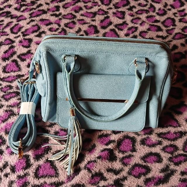 しまむら(シマムラ)のフリンジ付きがま口ショルダーバック レディースのバッグ(ショルダーバッグ)の商品写真