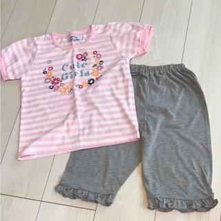 シマムラ(しまむら)の新品 しまむら 半袖パジャマ 110(パジャマ)