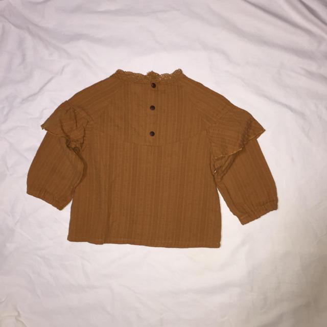 しまむら(シマムラ)の秋物 ブラウス キッズ/ベビー/マタニティのベビー服(~85cm)(シャツ/カットソー)の商品写真