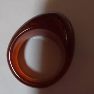 エィス(A)の必ず結婚叶うカーネリアン指輪超特大カーネリアン指輪私芸能人と結婚叶えられました♪(リング(指輪))