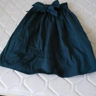 バイバイ(ByeBye)のグリーンスカート(ひざ丈スカート)