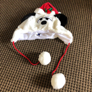 ピーナッツ(PEANUTS)のUSJ スヌーピー  オラフ 帽子 クリスマス限定商品(キャラクターグッズ)