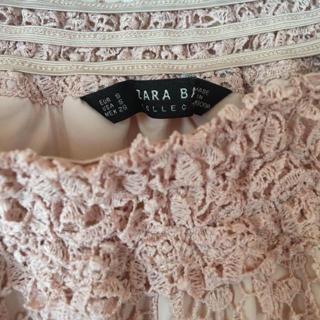 ZARA(ザラ)のZARA♡美品♡オフショル♡S レディースのトップス(シャツ/ブラウス(半袖/袖なし))の商品写真