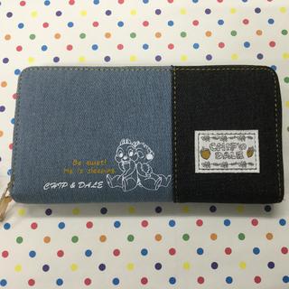 ディズニー(Disney)のチップ&デール デニム長財布(財布)