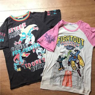 ラフ(rough)のラフ Tシャツ 2枚セット(Tシャツ(半袖/袖なし))