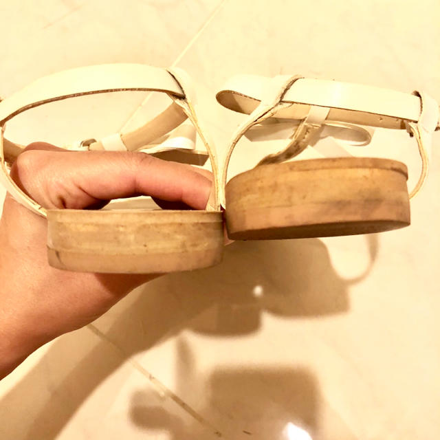 ZARA(ザラ)のZARA リボンベルト サンダル レディースの靴/シューズ(サンダル)の商品写真