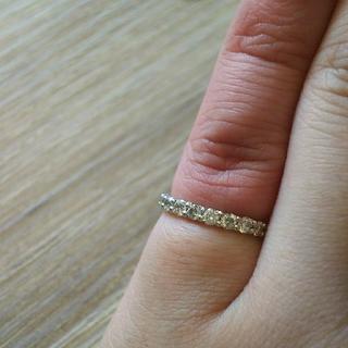 1カラット超え ダイヤモンドエタニティリング(リング(指輪))