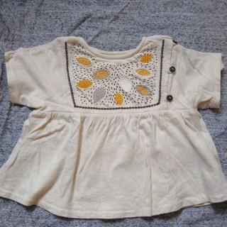 ザラ(ZARA)のザラ♡刺繍Tシャツ(Tシャツ)