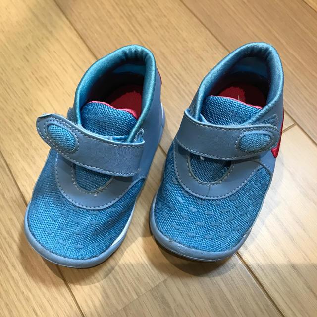 NIKE(ナイキ)のナイキ 中古 NIKE 靴 キッズ/ベビー/マタニティのベビー靴/シューズ(~14cm)(スニーカー)の商品写真