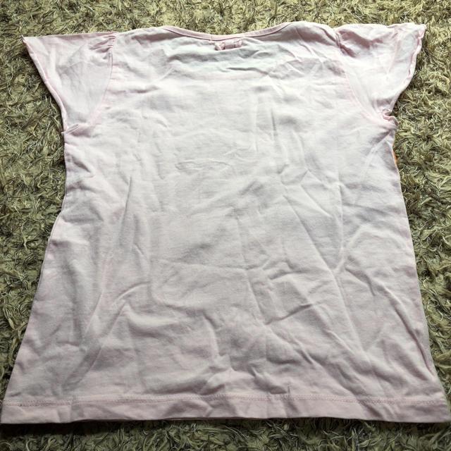 GU(ジーユー)のgu ティシャツ130㎝ キッズ/ベビー/マタニティのキッズ服 女の子用(90cm~)(Tシャツ/カットソー)の商品写真