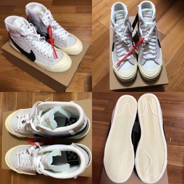 NIKE(ナイキ)のOFF-WHITE × NIKE THE10 NIKE BLAZER MID メンズの靴/シューズ(スニーカー)の商品写真