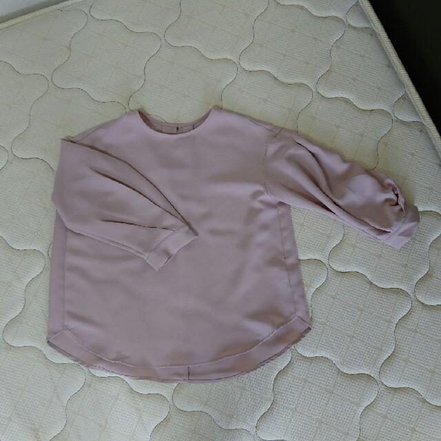 GU(ジーユー)のコクーン袖のブラウス レディースのトップス(シャツ/ブラウス(長袖/七分))の商品写真