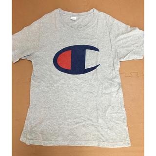 ロデオクラウンズワイドボウル(RODEO CROWNS WIDE BOWL)のロデオ★チャンピオンコラボ Tシャツ L(Tシャツ/カットソー(半袖/袖なし))