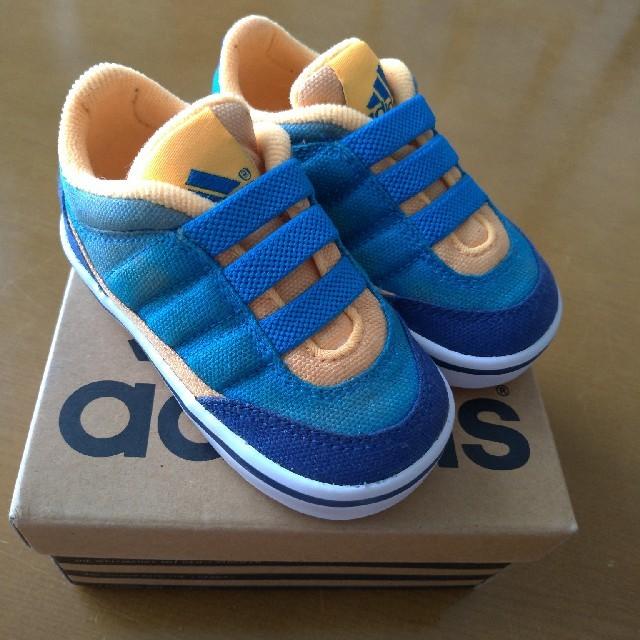 adidas(アディダス)のアディダス☆スニーカー12センチ キッズ/ベビー/マタニティのベビー靴/シューズ(~14cm)(スニーカー)の商品写真
