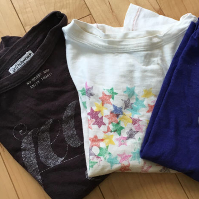 GO TO HOLLYWOOD(ゴートゥーハリウッド)の左側2枚セット(^^)120size キッズ/ベビー/マタニティのキッズ服女の子用(90cm~)(Tシャツ/カットソー)の商品写真