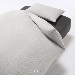 ムジルシリョウヒン(MUJI (無印良品))の無印良品 麻平織掛ふとんカバー・敷ふとんカバー・枕カバー 3点セット(シーツ/カバー)