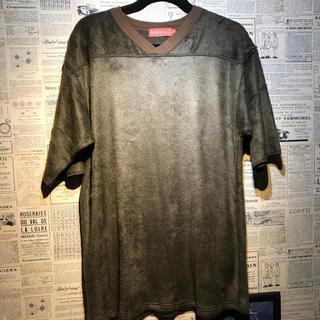 アーティズ(Artyz)のArtyz◇アーティーズ◇VネックボアTシャツ◇サイズL◇(Tシャツ/カットソー(半袖/袖なし))