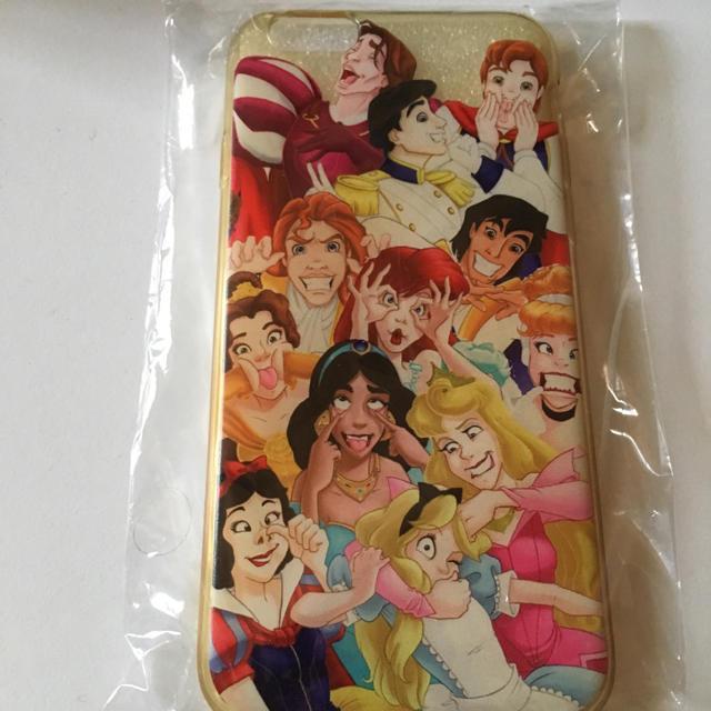 Disney(ディズニー)のディズニープリンセス☆iPhone6s.6ケース スマホ/家電/カメラのスマホアクセサリー(iPhoneケース)の商品写真
