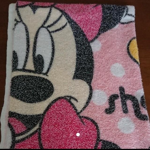 Disney(ディズニー)のお昼寝タオルケット ミニー ミッキー キッズ/ベビー/マタニティの寝具/家具(タオルケット)の商品写真