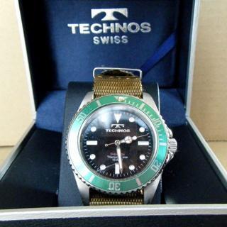 テクノス(TECHNOS)のテクノス チタンケース ソーラー T1005IM【中古】(腕時計(アナログ))