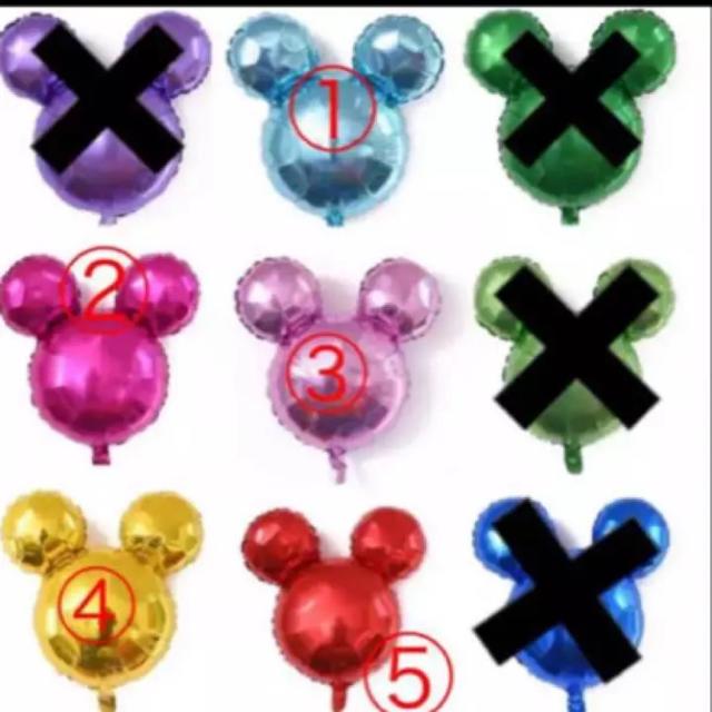 Disney(ディズニー)のディズニー  バルーン  誕生日  グッズ  サプライズ  限定  風船 エンタメ/ホビーのおもちゃ/ぬいぐるみ(キャラクターグッズ)の商品写真