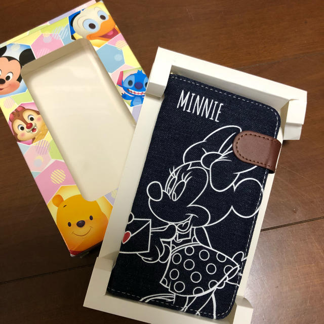 Disney(ディズニー)のスマホケース スマホ/家電/カメラのスマホアクセサリー(モバイルケース/カバー)の商品写真