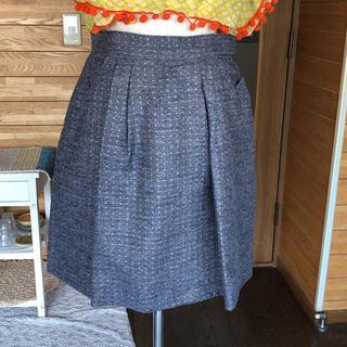 ツモリチサト(TSUMORI CHISATO)のツモリチサト☆ゴールドドットスカート(ひざ丈スカート)