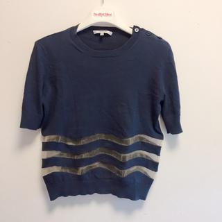 カルヴェン(CARVEN)のCARVEN コットンニット(Tシャツ(半袖/袖なし))