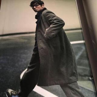 サンシー(SUNSEA)のSUNSEA 16aw Britishwool coat(チェスターコート)