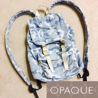 オペーク(OPAQUE)のオペーク OPAQUE カモフラ 迷彩 リュック(リュック/バックパック)