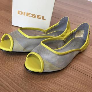 ディーゼル(DIESEL)のメッシュオープントゥサンダル35(サンダル)