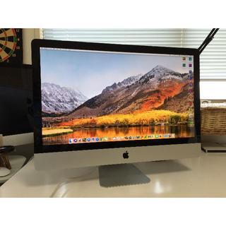 アップル(Apple)のiMac 27 Core i7 3.4GHz/16GB/2TB(デスクトップ型PC)