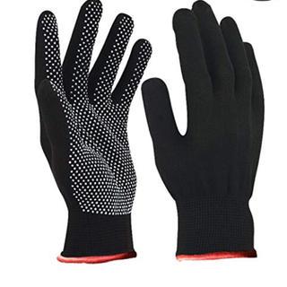 すべり止め付き グローブ  軍手 フリーサイズ  6セット(手袋)