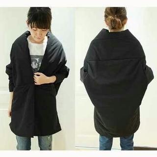 ドゥーズィエムクラス(DEUXIEME CLASSE)の定価約5万円 col pierrot コルピエロ 中綿コート 黒 ブラック(ダウンジャケット)