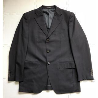 【おまけつき】スーツ ジャケット チャーリーアレン A6サイズ 黒ストライプ(スーツジャケット)