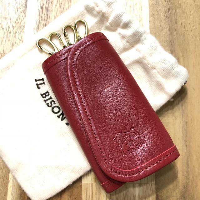 on sale 17989 f8137 新品 イルビゾンテ キーケース 赤 スマートキーケース ブランド キーホルダー   フリマアプリ ラクマ